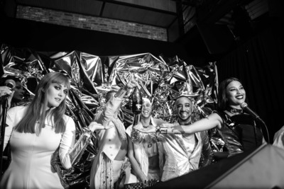 ABSOLUT(R), the premium vodka brand, is partnering with Icona Pop to launch ABSOLUT TUNE(R) nationwide, a bubbly blend of crisp white wine and premium vodka. (PRNewsFoto/Pernod Ricard USA)