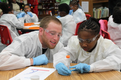 Through its SPARK global science education program, the life science business of Merck KGaA, Darmstadt, Germany, which operates as MilliporeSigma in the U.S. and Canada, partners with non-profits to bring knowledge and passion for science into the community.
