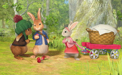 Peter Rabbit Series Premieres Tuesday, Feb. 19, at 12 pm (ET/PT) on Nickelodeon.  (PRNewsFoto/Nickelodeon)