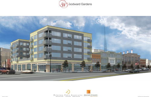 New Woodward Gardens project on Detroit Thermal network.  (PRNewsFoto/Detroit Thermal)
