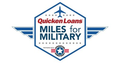 Quicken Loans' Miles for Military (PRNewsFoto/Quicken Loans)