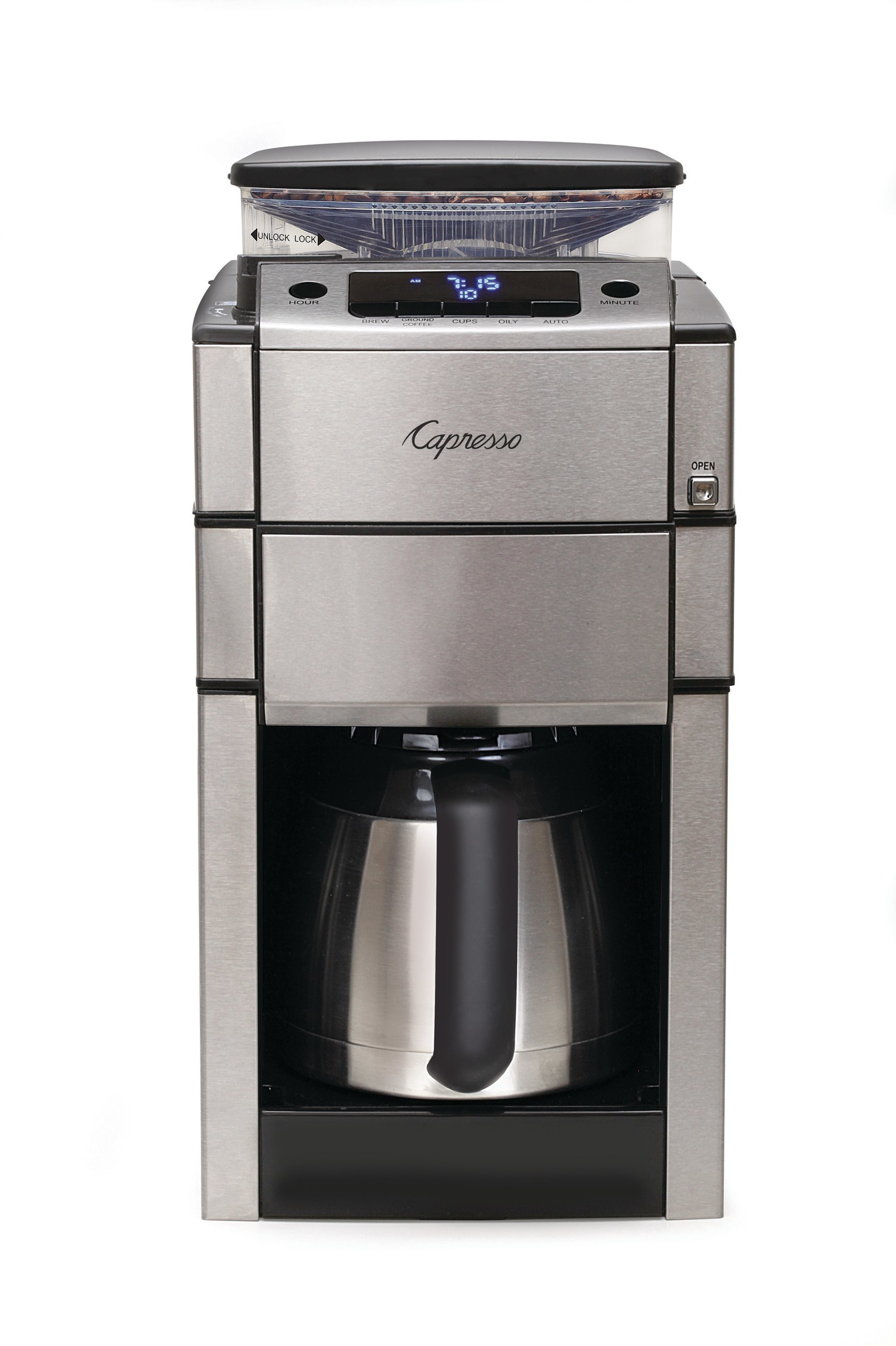 Capresso Brings You Coffee Perfection with New CoffeeTEAM PRO Plus