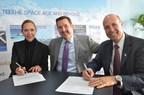 Today at the Farnborough Airshow Joanna Speed, Managing Director, Penton's A&D Events and SpeedNews Conferences; Greg Hamilton, President, Penton's Aviation Week Network; and Tony Vernaci, Vice President, Global Business Development, Michigan Economic Development Corporation (MEDC) sign an agreement to bring two groundbreaking aerospace events to Michigan in 2017.