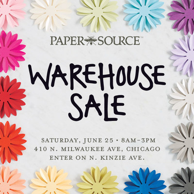 Paper Source Warehouse Sale