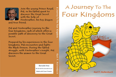 Full cover of A Journey To The Four Kingdoms.  (PRNewsFoto/internet marketing KY, LLC)