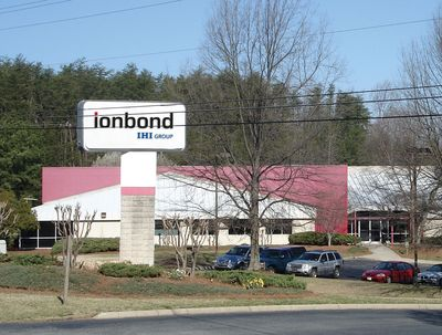 Ionbond Greensboro, NC, one of Ionbondâeuro(TM)s 9 service centers in the USA, specialized in PVD and PACVD coatings for components for Industrial, automotive and aerospace applications. (PRNewsFoto/ICI Ionbond AG)