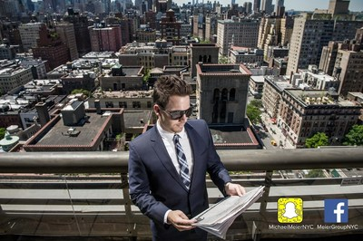 Agents can follow one of Manhattan's top-producing real estate brokers and motivational entrepreneurs on the journey of success in New York City by searching MichaelMeierNYC on Snapchat and MeierGroupNYC on Facebook.