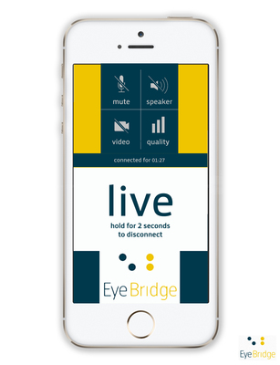 EYEBRIDGE app (PRNewsFoto/EYEBRIDGE)