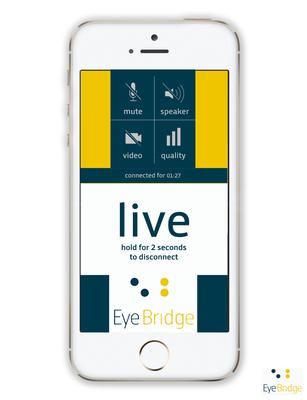 EYEBRIDGE app (PRNewsFoto/EYEBRIDGE)