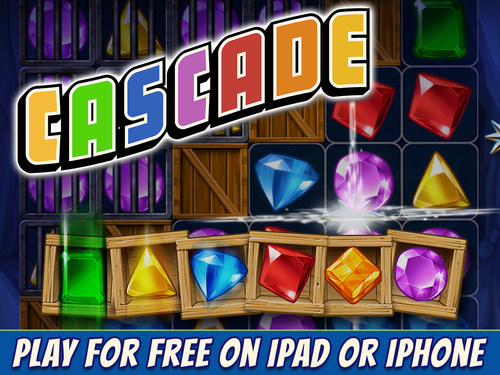Are you ready to try the game that's making everyone finally quit crushing candies? Cascade(R) from Big ...