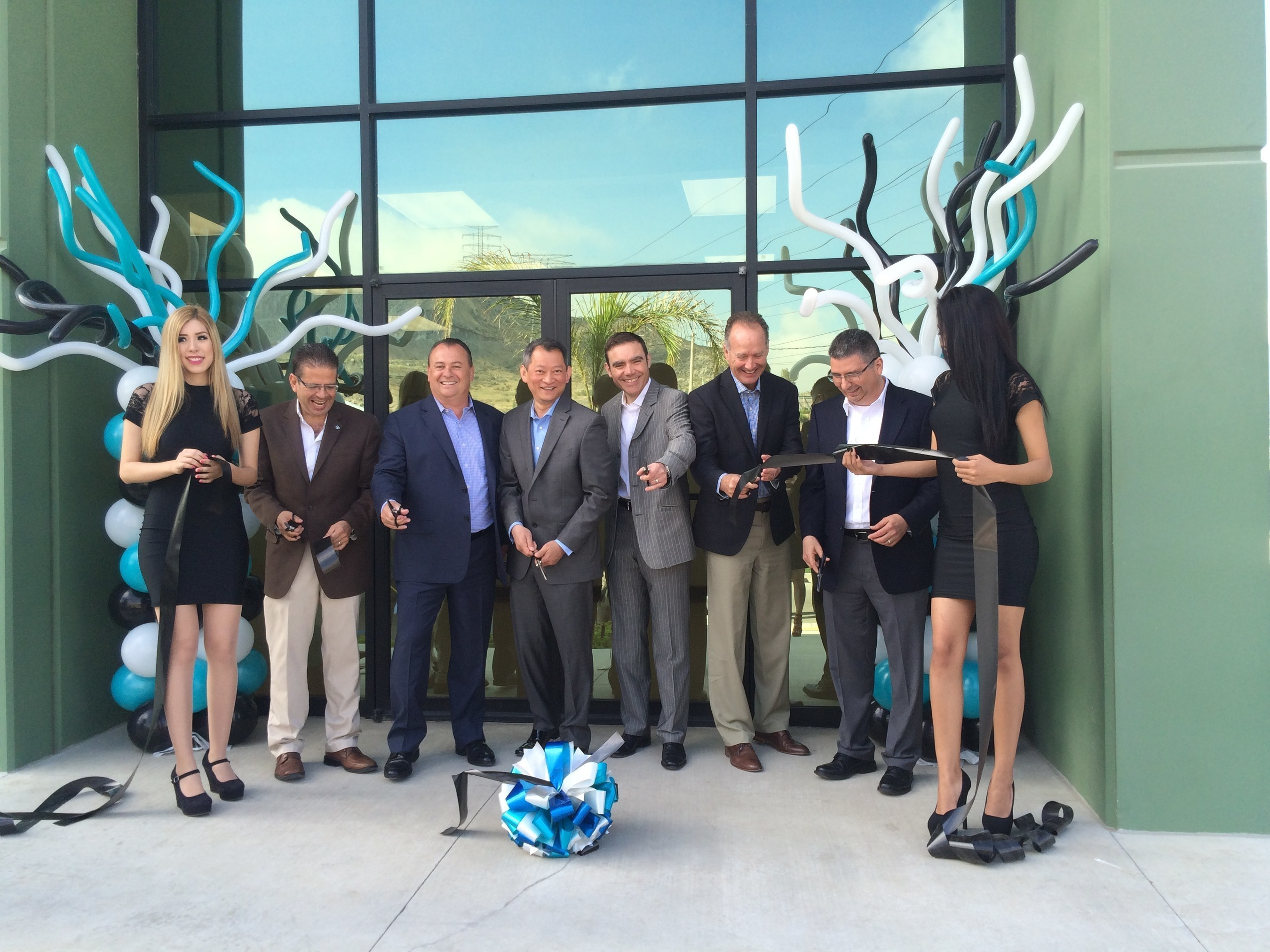 Ribbon cutting at the new Dynacast facility in Tijuana, Mexico