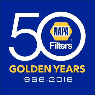 NAPA Filters 50 Golden Years