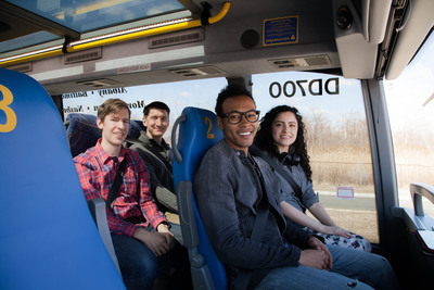 Megabus.com debuts Reserved Seating program on its double-decker bus fleet in New York, Baltimore, Washington, D.C., Boston & Philadelphia