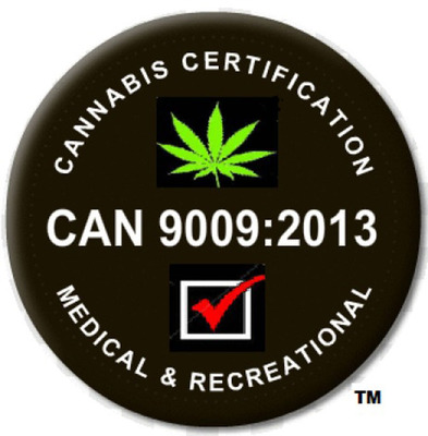 CAN-9009:2013 Brings Quality Assurance to the Medical & Recreational Marijuana Industry. (PRNewsFoto/G-PMC, LLC) (PRNewsFoto/G-PMC, LLC)