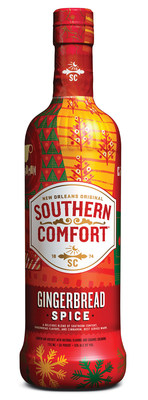 Southern Comfort Gingerbread Spice launches nationwide for the holiday season (PRNewsFoto/Brown-Forman)