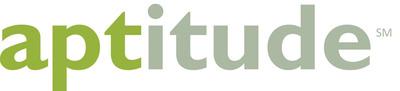 aptitude logo.  (PRNewsFoto/aptitude)
