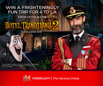 Hotels.com and Sony Pictures Entertainment Team up for Hotel Giveaway in Support of