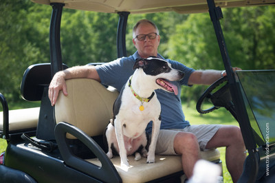 """When I adopted Lucky from the side of an Indiana highway, I saved his life. But his arrival also made my life so much better,"" said Kris Kiser, president and CEO of the Outdoor Power Equipment Institute. ""And now Lucky has a new mission in life as TurfMutt."" The TurfMutt environmental education and stewardship program, in partnership with Scholastic, teaches children in grades K-5 to take care of the environment while learning science. Learn more at www.TurfMutt.com."