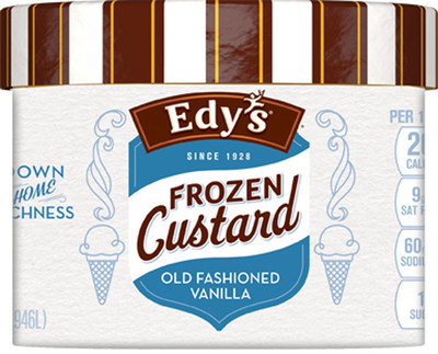 The Edy's (R) Ice Cream Brand Brings the Joy of Frozen Custard into Homes Across the Country