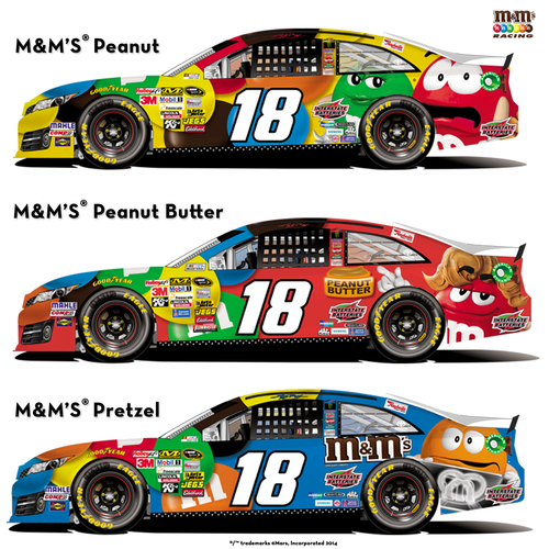 To draft your favorite M&M'S(R) flavor, visit the M&M'S Racing Facebook page at  ...