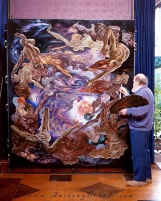 Artist Anthony Brandt (1925-2009) England's Modern Michelangelo