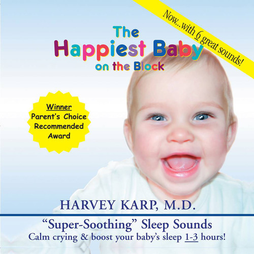 """The Happiest Baby on the Block's """"Super-Soothing"""" Sleep Sounds CD.  (PRNewsFoto/The Happiest Baby, ..."""