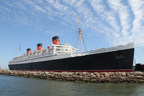 The 80 year old Queen Mary in Long Beach, CA