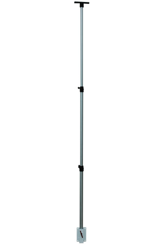 This adjustable telescoping pole is designed to be mounted to any vertical surface via an included mounting ...