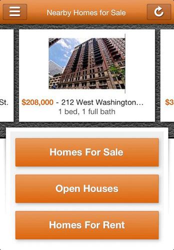 HomeFinder.com Real Estate Search iPhone App.  (PRNewsFoto/HomeFinder.com)