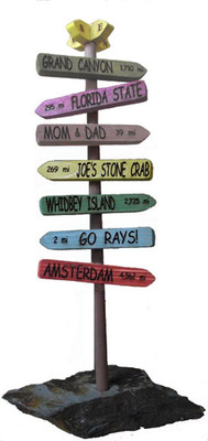 Journey Markers, table top style.  (PRNewsFoto/JourneyMarkers LLC)