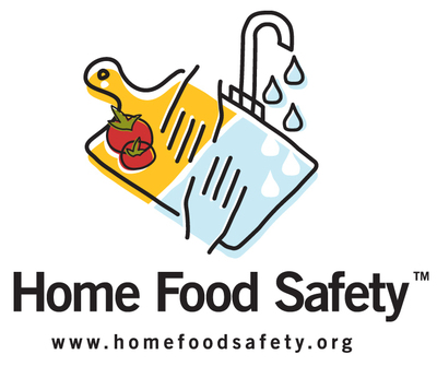 Help keep you and your family and friends safe from foodborne illness with tips from www.HomeFoodSafety.org.  (PRNewsFoto/Academy of Nutrition and Dietetics)