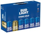 "Bud Light is further celebrating passionate NFL fans around the league by introducing limited-edition ""Strike Gold"" Super Bowl-themed packaging. Randomly seeded in select packs are gold Super Bowl 51 cans, which - when found - give fans the opportunity to enter for a chance to score big at the end of the season and win tickets to attend the Super Bowl each year for the rest of their life (up to 51 years)."