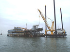 Inland Salvage Inc. Successfully Refloats Stranded Drill Barge from the Caillou Island Oilfield in the Gulf of Mexico.