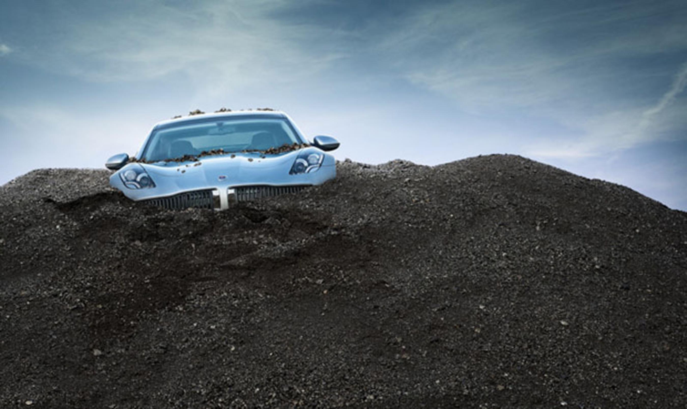 Electric cars don't solve the automobile's environmental problems.  (PRNewsFoto/Ozzie Zehner)