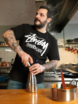 "Chef Misha Sukyas for Stussy, FreshCotton cookbook lookbook ""Baked"""