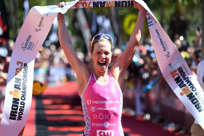 Britain's Finest: Holly Lawrence (GBR) earns title at IRONMAN 70.3 World Championship on the Sunshine Coast of Queensland, Australia