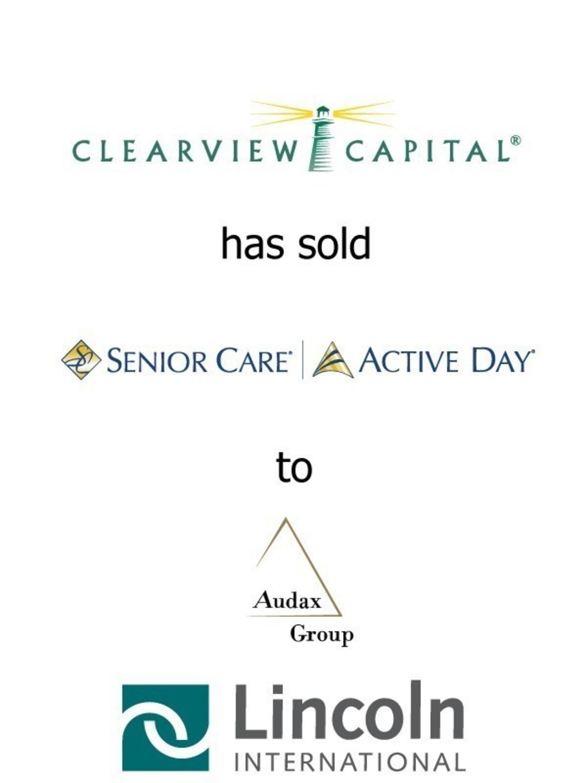 Lincoln International Represents Clearview Capital in the Sale of Senior Care / Active Day to Audax