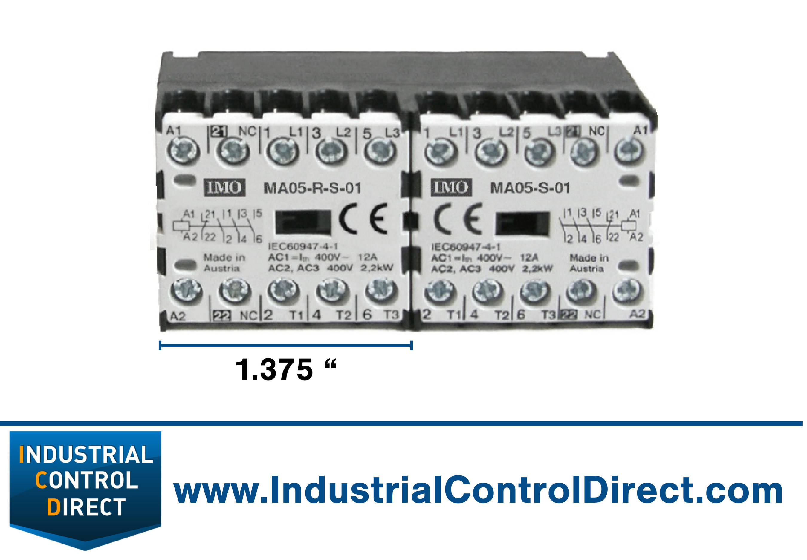 World's Smallest Electrical Contactor Saves Space, Provides Dependable Power Control