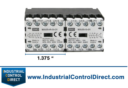 World s smallest electrical contactor saves space