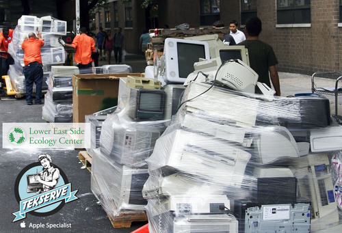 The Lower East Side Ecology Center and Tekserve Team Up for 'After the Holidays' E-Waste Recycling