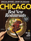 Chicago magazine May Issue, Best New Restaurants  (PRNewsFoto/Chicago magazine)