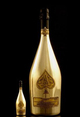 Armand de Brignac presents Midas - the World's Largest Champagne Bottle.  (PRNewsFoto/Armand de Brignac Champagne)