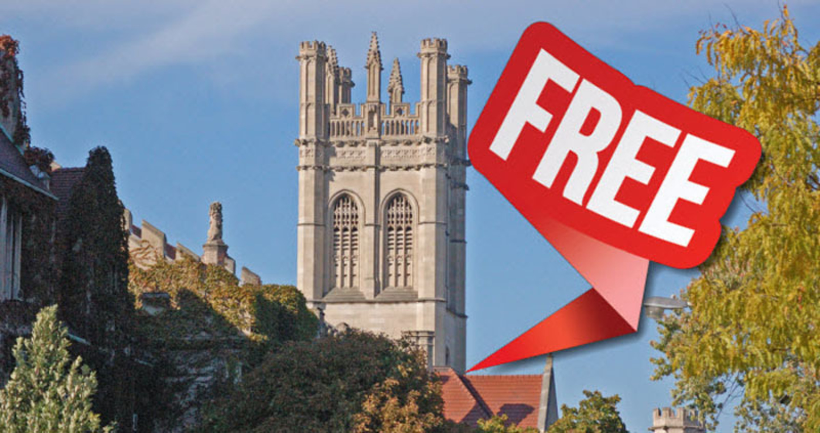 """The University of Chicago levies a $75 application fee, but says it will be """"automatically waived"""" if you tell them your family earns """"less than or around"""" $75,000 a year in the """"additional Information"""" section of the Common Application.  (PRNewsFoto/60second Recap)"""