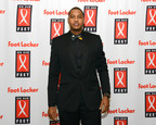 NY Knicks Forward Carmelo Anthony Joins Foot Locker Foundation, Inc. at 12th annual On Our Feet fundraising gala to benefit UNCF.  (PRNewsFoto/Foot Locker Foundation, Inc.)
