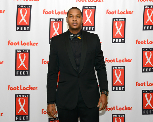 NY Knicks Forward Carmelo Anthony Joins Foot Locker Foundation, Inc. at 12th annual On Our Feet fundraising ...