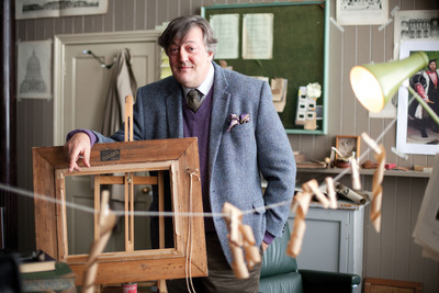 "Stephen Fry stars in ""Doors Open"" premiering on Ovation Saturday, April 13. Photo courtesy of Sprout Pictures.  (PRNewsFoto/Ovation)"