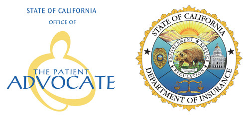 State of California Office of the Patient Advocate / Department of Insurance.  (PRNewsFoto/Office of the ...