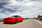 2015 Dodge Challenger SRT Hellcat gets 22 mpg on the highway (PRNewsFoto/Chrysler Group LLC)