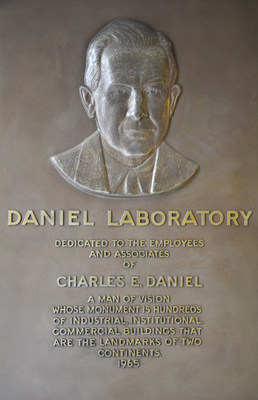 "In 1965, The Daniel Laboratory building on Southern Research's downtown campus was dedicated to Chairman of The Daniel Foundation of Alabama Charles E. Daniel, with a plaque that called him a ""man of vision."" Today, the building houses several Drug Discovery labs in oncology and infectious disease research."