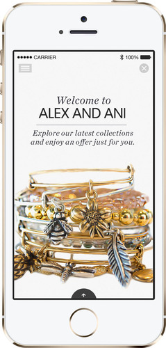 Alex and Ani Becomes First Fashion Retailer to Complete Nationwide Roll-Out of iBeacon Technology.  (PRNewsFoto/Swirl Networks, Inc.)